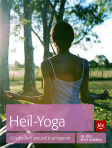 "Yoga Augsburg: Buch-Cover ""Heil-Yoga"" von Dr. med. Peter Konopka"