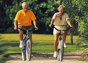 Bewegung macht schlau zum Beispiel mit dem Fahrrad