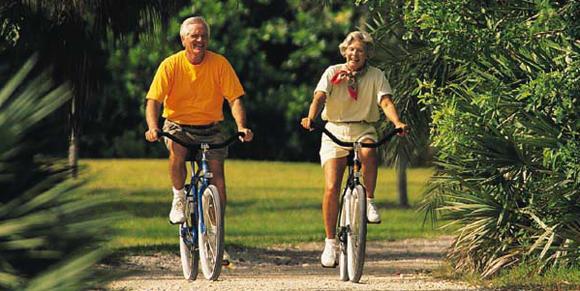 Langsames Radfahren stärkt das Immunsystem